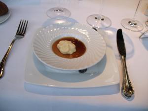 Creme de foie, truffle, Pedro Jimenez