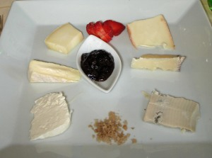 Selection of local Cheese