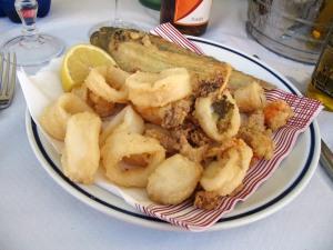 Frittura di pesce misto fresco