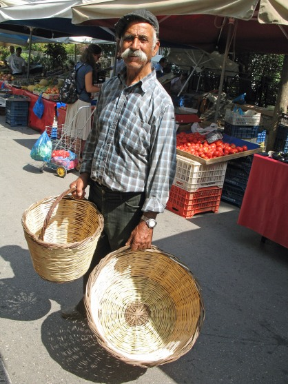 Basket Seller from Liviadia