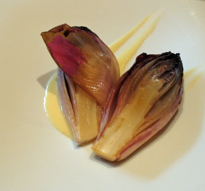 Roasted Red Endives