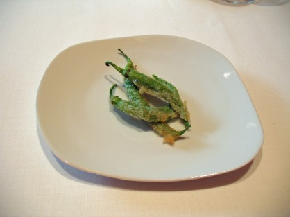 """Tempura"" Green Peppers"