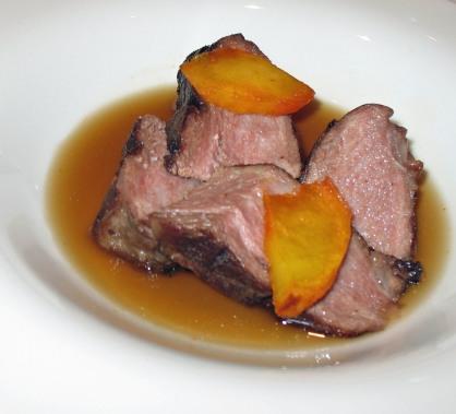 Iberian pork stew
