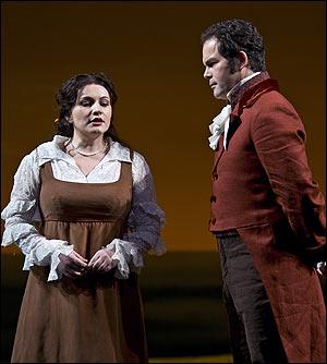 Απο την παρασταση της Βασιλικης Οπερας του Κοβεν Γκαρντεν το Μαρτιο 2008