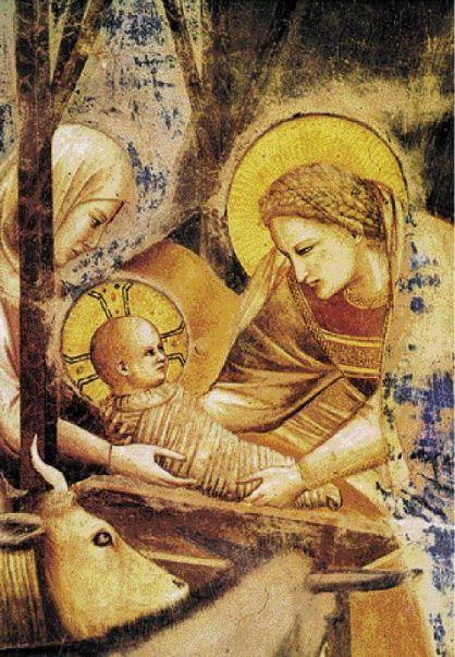 Γεννηση του Χριστου (λεπτομερεια) - Τζιοττο
