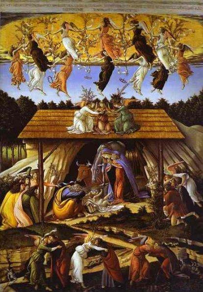 The Mystical Nativity - Sandro Boticelli