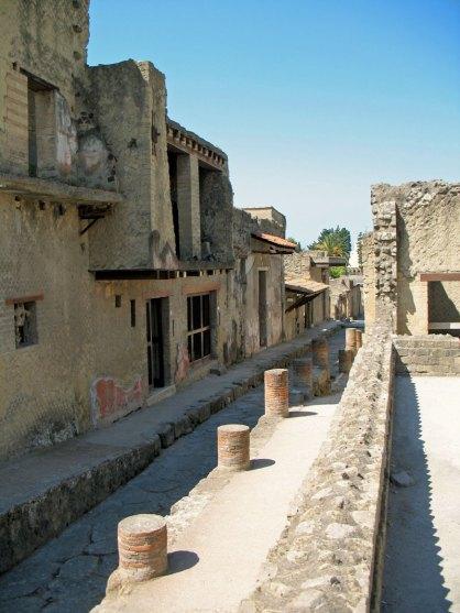 Street in Ercolano