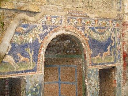 Mosaic in Ercolano