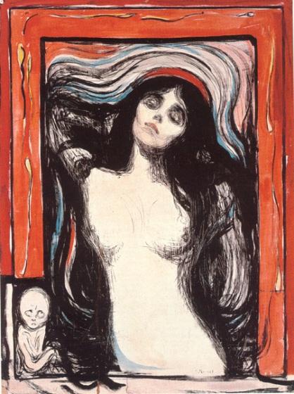 Edvard Munch, Madonna Oslo, Lithograph