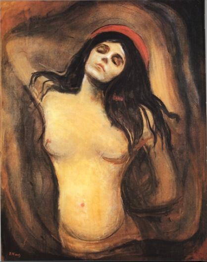 Madonna, Oslo, Oil on canvas