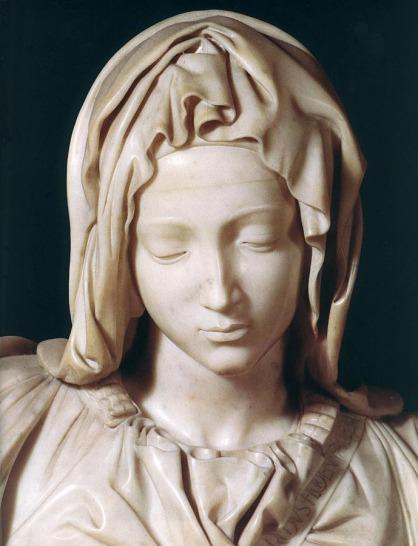 Mary's face