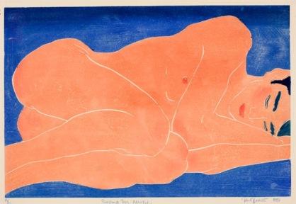 Paul Binnie, Sleeping Woman (Nemuru onna)