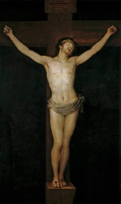 Goya Crucifixion