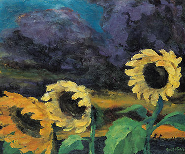 Sunflowers in the Windstorm (1943)