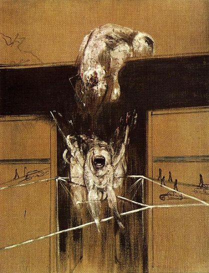 Francis Bacon - Fragment of a Crucifixion