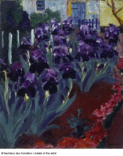 Blaue Iris I, 1915