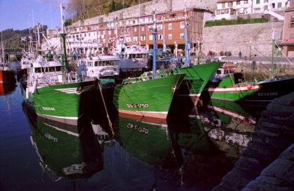 Fishing Vessels in San Sebastian