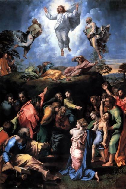 Μεταμορφωση - Ραφαελος, Μουσειο Βατικανου