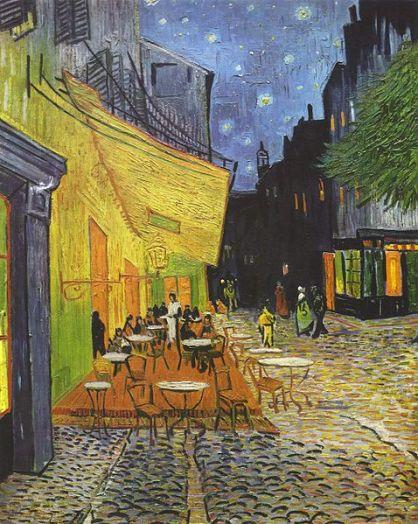 Cafe a Place du Forum, Arles