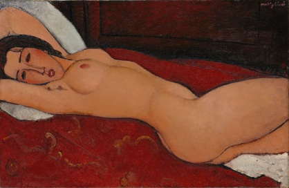 Amedeo Modigliani: Reclining Nude