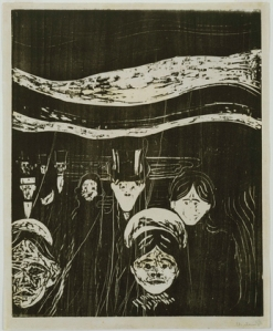 Edward Munch, Angst