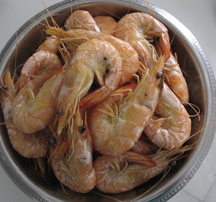 how to clean shrimp tail