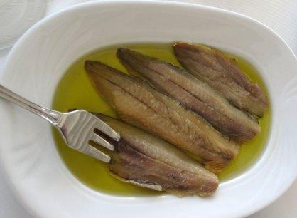 Damianos fish tavern ambelas island of paros greece for Salt cured fish