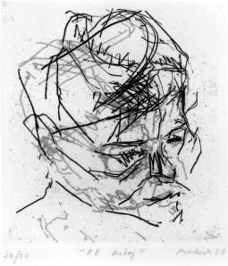 Frank Auerbach - R.B. Kitaj