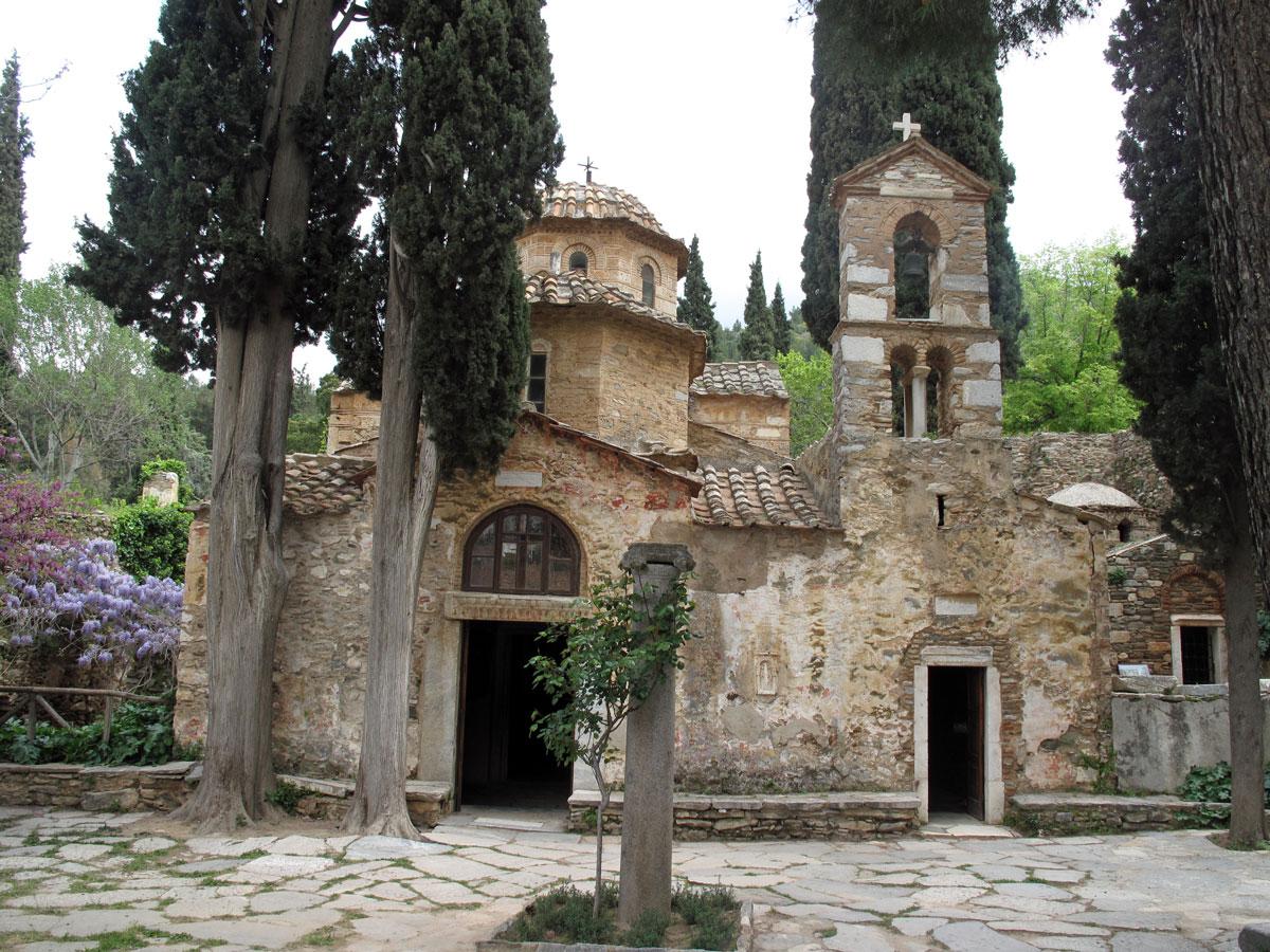 Αποτέλεσμα εικόνας για Μονή Καισαριανής