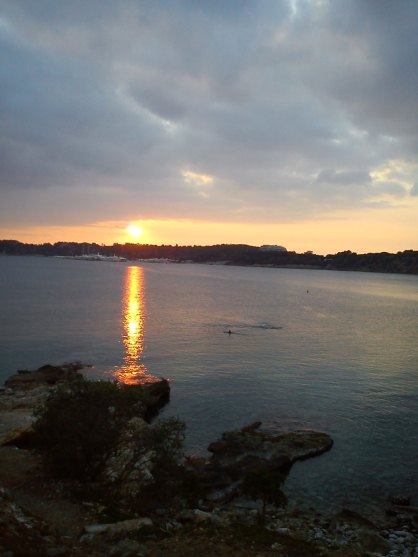 Sunset in Vouliagmeni, Attica, Greece