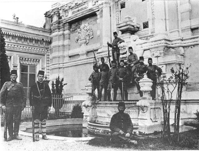 Wednesday, 28th April 1909: From Yildiz Palace in Istanbul ...
