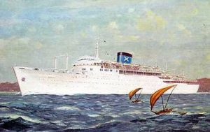 Handris Passenger Ship 1960's