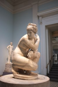 Crouching Aphrodite, British Museum. London