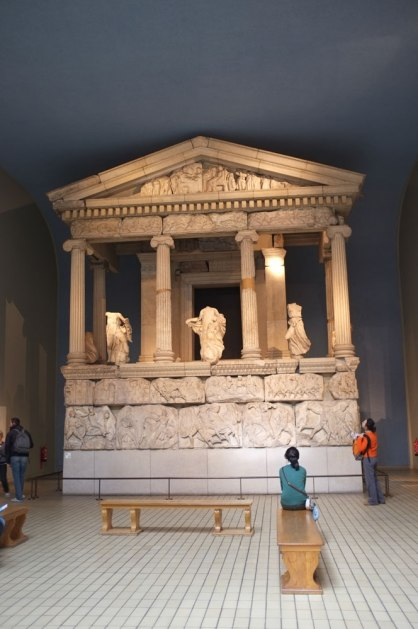 the nereid monument at xanthos lycia minor asia panathinaeos