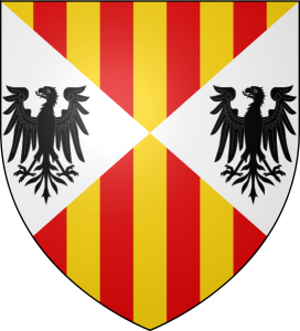 Coat of arms of the Aragonese Kings