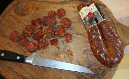 El Bordon, Chorizo extra