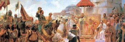 Roger de Flor entering Constantinople