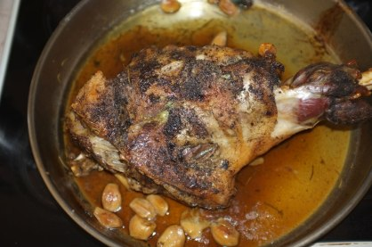 Ewe's Roast Leg - The Greek Way
