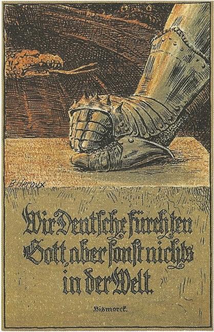 """""""Wir Deutsche fürchten Gott, aber sonst nichts auf der Welt!"""" Bismarck"""