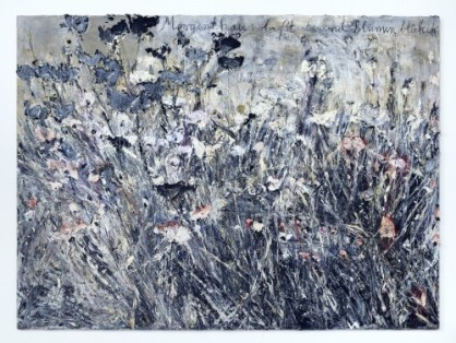 Anselm Kiefer, Morgenthau: laßt tausend Blumen blühen; (Morgenthau: Let a thousand flowers bloom), 2012