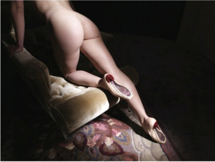 Picture by David Lynch; shoes by Christian Louboutin. Copyright of David Lynch
