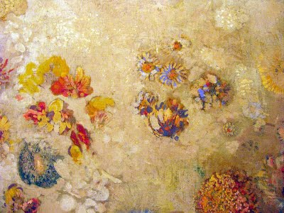 Odilon Redon, Decorative Floral Panel, Domency 1902, Musee D'Orsay, Paris