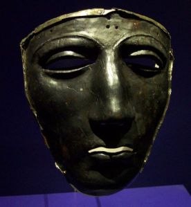 Roman Mask recovered in Kalkriese