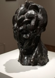 Pablo Picasso, Head of a Woman (Fernande), autumn 1909, bronze, Art Institute of Chicago