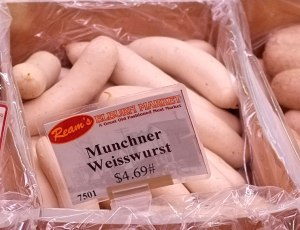 Munich White Sausage