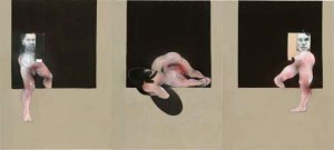 Francis Bacon, Triptych, 1991, Oil on canvas,  The Museum of Modern Art, New York