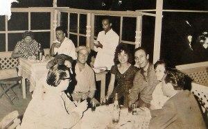 Ο Ανδρεας Μπαρκουλης στου Μπαμπουλα το 1962 (Αρχειο Γιωργου Ζαχαριαδη)