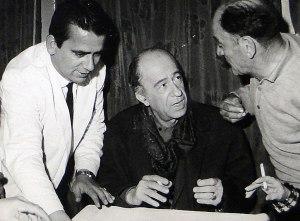 Ο Μιμης Φωτοπουλος σοτν Μπαμπουλα (Αρχειο Γιωργου Ζαχαριαδη)
