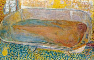 Pierre Bonnard La Grande Baignoire (Nu), 1937–1939 The Large Bathtub (Nude) Oil on canvas, 94 × 144 cm Private collection