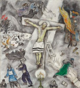 Marc Chagall, White Crucifixion, 1938, Oil on Canvas, Art Institute of Chicago